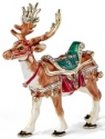 Kubla Crafts Bejeweled Enamel KUB 00-3159 Reindeer Box