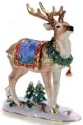 Kubla Crafts Bejeweled Enamel KUB 00-4082 Reindeer Box