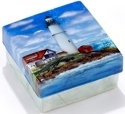 Kubla Crafts Capiz KUB 1-1784 Lighthouse Capiz Box