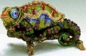 Kubla 1-3908 Chameleon Jeweled Box