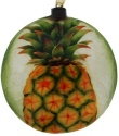 Kubla Crafts Capiz KUB 1600N Pineapple Capiz Ornament