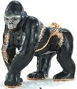 Kubla 3849 Gorilla Jeweled Box