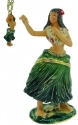 Kubla Crafts Bejeweled Enamel KUB 3956HN Hula Dancer Box and Necklace