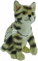 Kubla Crafts Bejeweled Enamel KUB 4-3057 Kitten Box