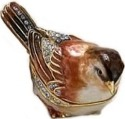 Kubla 4-3816 Sparrow Jeweled Box