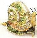 Kubla 4011 Snail Jeweled Box