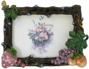 Kubla Crafts Bejeweled Enamel KUB 4104 Bejeweled Fruit Picture Frame
