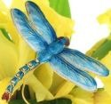Kubla 4386T Turquoise Art Dragonfly Pick