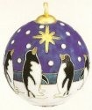 Kubla 4478 Penguin Set of 6 Ball Ornament