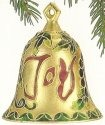 Kubla Crafts Cloisonne KUB 4560 Joy Bell Ornament