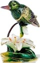 Kubla Crafts Bejeweled Enamel KUB 5-3726 Hummingbird Box