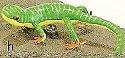 Kubla 5604 Green gecko Set of 12 Pic H