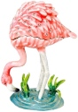 Kubla Crafts Bejeweled Enamel KUB 6-3046 Flamingo Box