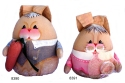 Kubla Crafts Soft Sculpture KUB 8391 Stuffed Bunny Large Father