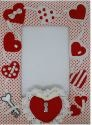 Kubla Crafts Soft Sculpture KUB 8504 Valentine Photo Frame