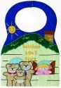Kubla Crafts Soft Sculpture KUB 8872 Goldilocks Bib