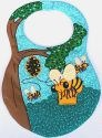 Kubla Crafts Soft Sculpture KUB 8881 Bee Bib