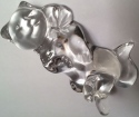 Estate Items LNXCatComfyCozy Lenox Crystal Cat Comfy Cozy