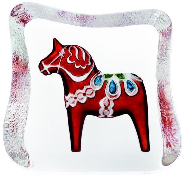 Maleras 26124 Dalecarlia Horse Red traditional