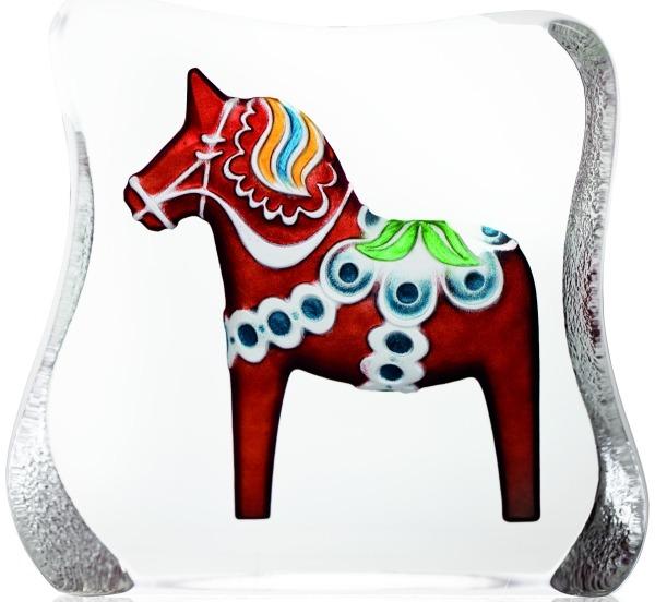 Maleras 26126 Dalecarlia Horse Red traditional