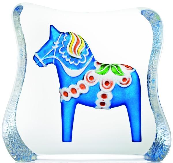 Maleras 26127 Dalecarlia Horse Blue traditional