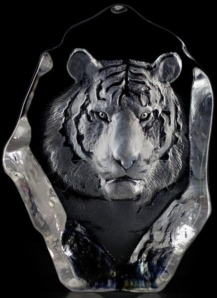 Mats Jonasson Crystal 33567 Tiger