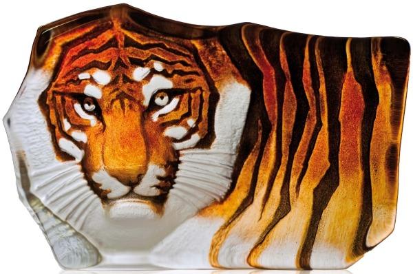 Mats Jonasson Crystal 33850 Tiger Orange small