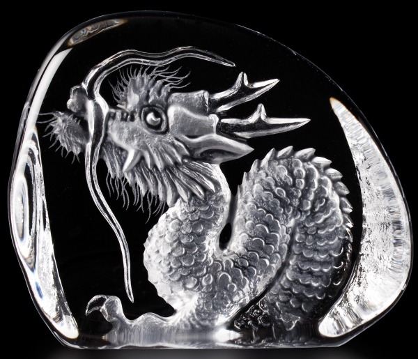 Mats Jonasson Crystal 34036 Dragon Small