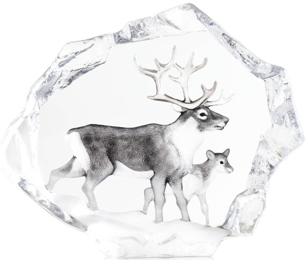 Maleras 34150 Reindeer with calf Ltd Ed 299 pcs