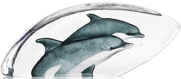 Maleras 34180 Dolphins Painted