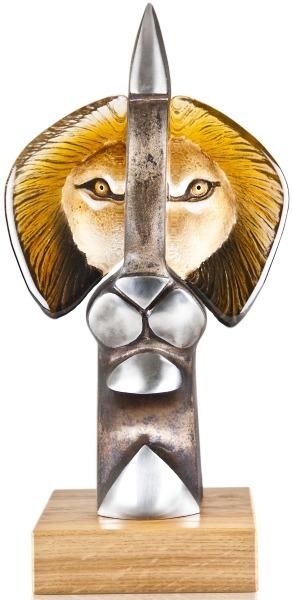 Mats Jonasson Crystal 68144 The King II Ltd Ed 49 pcs NEW