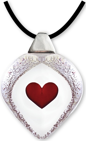 Maleras 84115 Necklace Heart Red small