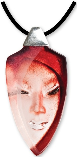 Maleras 84139 Necklace Batzeba red
