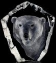 Mats Jonasson Crystal 33361 Polar Bear's Head