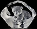 Mats Jonasson Crystal 33549 Polar Bear Cub
