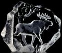 Mats Jonasson Crystal 33566 Bull Moose