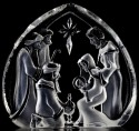 Mats Jonasson Crystal 33612 Holy Family