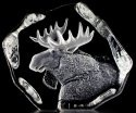 Mats Jonasson Crystal 33750 Moose