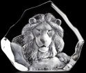 Mats Jonasson Crystal 33781 Lion Head
