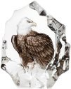 Mats Jonasson Crystal 33893 Bald Eagle