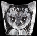 Mats Jonasson Crystal 34198 Cat NA Exclusive