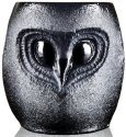 Mats Jonasson Crystal 42039 Owl Tumbler small Black