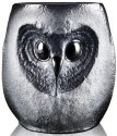 Mats Jonasson Crystal 42040 Owl Tumbler large Black