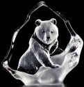 Mats Jonasson Crystal 88131 Grizzly Bear