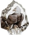 Mats Jonasson Crystal 88172 Miniature Bald Eagle