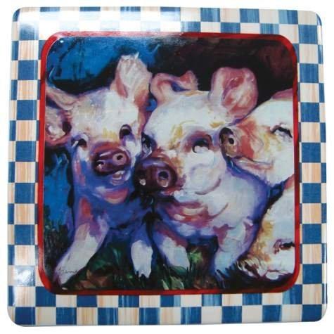 Special Sale 21099 Marcia Baldwin 21099 Piglets Plaque