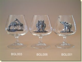 Makoulpa BGL001 Elephant Brandy Glass