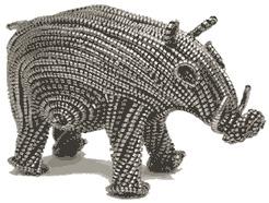 Metal Shaving Animals MSW-S Warthog