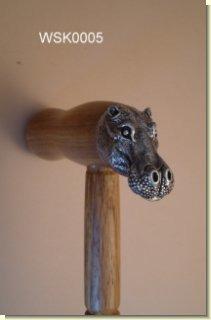 Animal Walking Sticks WSK0005 Hippo Walking Stick