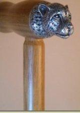 Animal Walking Sticks WSK0009 Cheetah Walking Stick
